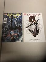 Spider-Girl #1  Variant- Anya Corazon - Women Of Marvel + Amazing Fantasy #2