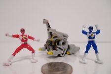1994 Micro Machines Mighty Morphin Power Ranger Titanus w/ Blue Red Figure Lot !