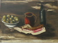 Maurice de Vlaminck: Naturaleza Muerta Bacon - Litografía Firmada,1958 ,Mourlot