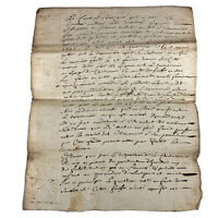1723 Document Government Legal Paper Minutes Record Authentic Manuscript Antique