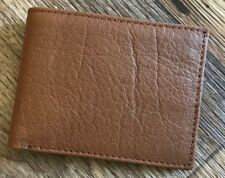 Mens Wallet Bifold Handmade Real Leather Purse Credit Card Holder Brown Purse