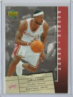 upper deck rookie debut #15 lebron james basketball card  $$ Hot $$
