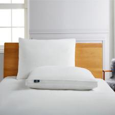 Serta White Goose Feather Down Fiber Side Sleeper Pillow Bed Room 2 Pack Jumbo