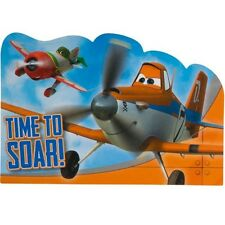 DISNEY PLANES INVITATIONS (8) ~ Birthday Party Supplies Stationery Cards Notes