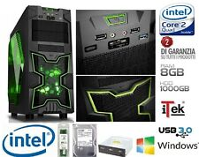 Pc Desktop Intel Quad Core Gaming iTek Ninja 8gb RAM HD 1tb HDMI assemblato
