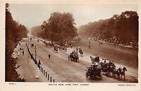 B85238 rotten row hyde park chariot horse   london uk