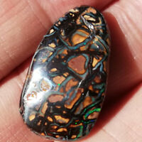 Distinctive 23.05CT  #VIDEO Australian Queensland Matrix Boulder Opal