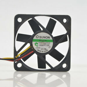 Sunon KDE0505PFV2 5v 0.8w 5000RPM 11CFM 5010 5cm 3-pin mute graphics card fan
