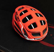 Suomy Gun Wind S-Line Helmet. Orange/Matte White, S/M