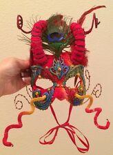 JUDITH RAUCHFUSS Mask Cirque du Soleil Handmade Halloween Masquerade Party
