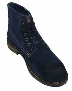Levi's Men's Sheffield Suede Comfort Insole Lace-Up Ankle High Boots NIB