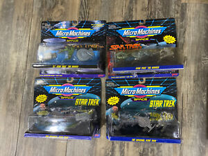 Star Trek Original & Movie Collections Lot 12 Micro Machines Galoob 1994 NEW