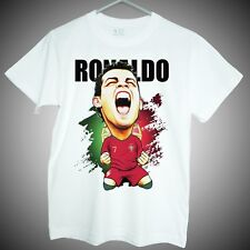 T-shirts of Cristiano Ronaldo World cup 2018 portugal soccer star fans gifts
