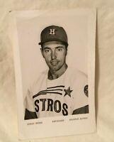 * 1970's Houston Astros Baseball Team Issue Photo DENIS MENKE Infielder