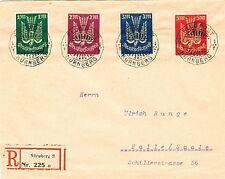 Briefmarken aus dem deutschen Reich (1919-1923) mit Mischfrankatur