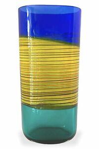 Alfedo Barbini - Vaso Vintage anni '50 in vetro di murano Firmato