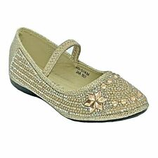 Lucita KD-51 Baby & Toddle Champagne Dress Pageant Evening & Party Shoes size 5