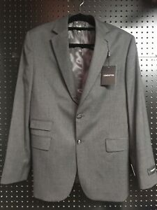 Claiborne Mens Sportcoat 42 Regular Gray Brand New Never Worn MSRP $200