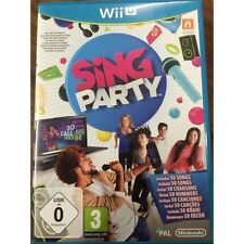 GIOCO NINTENDO WII U SING PARTY