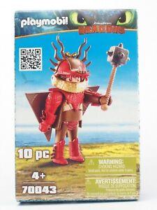 Playmobil Film Dragons 70043 Rotzbakke mit Fluganzug - komplett & neuwertig OVP