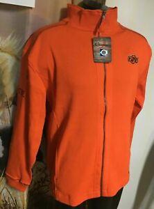NWT $65 new Chiliwear OSU Oklahoma St COWBOYS Zip Jacket Sweatshirt Mens L Large