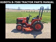 kubota l5450dt tractor illustrated master parts list manual