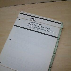 CUSTODIA DAVID BROWN 885Q 885 885N Tractor Parts Manual Book spare catalog 1976
