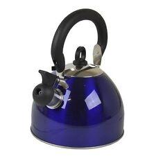 Prima 2.5 Litre Whistling Kettle Metallic Blue