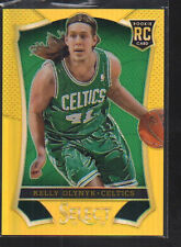 KELLY OLYNYK 2013-14 PANINI SELECT GOLD PRIZM ROOKIE CARD #184    /10
