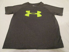 Under Armour Short Sleeve Athletic Shirt Graphic T Shirt Heat Gear Youth Size 6