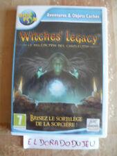ELDORADODUJEU     OBJET CACHES WITCHES' LEGACY Pour PC VF CD COMME NEUF