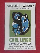 Art Poster Plakat Carl Liner