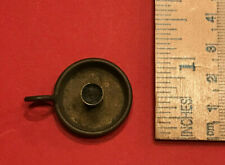 Antique Miniature BRASS CANDLEHOLDER Dollhouse Candle Holder