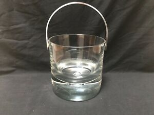 Vintage Mid Century Modern Kost Boda Pippi Crystal Ice Bucket