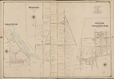 1902 GREAT RIVER BOHEMIA EAST ISLIP SUFFOLK LONG ISLAND NY COPY PLAT ATLAS MAP
