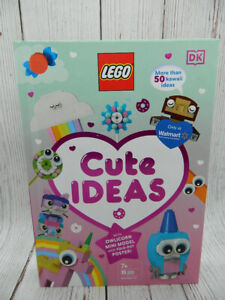 LEGO Cute Ideas with Owlicorn Mini Model & Poster Book NEW