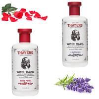 Thayers Alcohol Free Rose Lavender Witch Hazel with Aloe Vera 12 fl.oz
