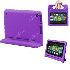 Kids Shockproof Eva Stand Case Cover for Pad Kindle Fire 7 Inch 5th Gen Tablet Purple