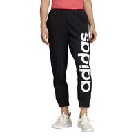 Adidas Women's Essentials Black/White Pants DT8605 NEW
