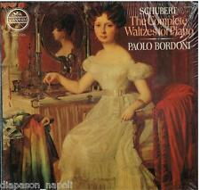 Schubert: The Complete Waltzes For Piano (Valzer Completi) / Paolo Bordoni  - LP