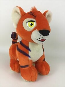 "Neopets Orange Kougra Tiger 11"" Plush Stuffed Animal Toy Talking 2003 Thinkway"