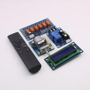 Motor preamp Remote volume control board with power supply display input switch