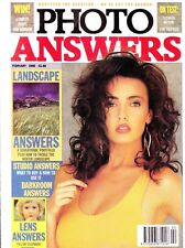 Photo Answers magazine with  Yashica MP108  on test    February 1990