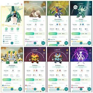 Pokémon Account Go Level 40 | 51 Shiny(Rare)| 111 Legendary(Rare)| 72,4*Pokemon