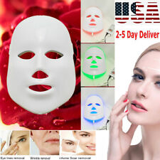 3Color Light Therapy LED Photon Face Mask Skin Rejuvenation Face Lifting Machine