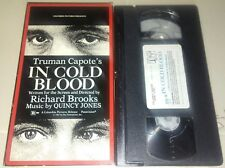 In Cold Blood Vhs Original Horror Release in Excellent Condition Plays A+  RARE!