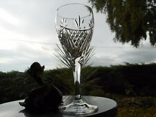 """Edinburgh Crystal  BEAULY  7 1/2""""  WINE goblet OR goblets"""
