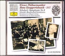 KNAPPERTSBUSCH: SCHUBERT Symphony No.9 SCHMIDT Husarenlied Variations WPO 150 CD