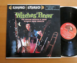 LSC-2225 Witches' Brew Alexander Gibson RCA Living Stereo MINT Classic Records
