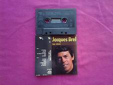 K 7 / Cassette / Jacques Brel – Les Vieux